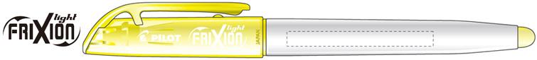 フリクションライト白軸名入れ可能範囲